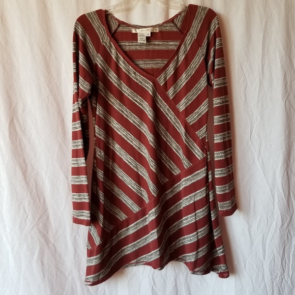Studio M Tops - Studio M striped tunic top size Medium